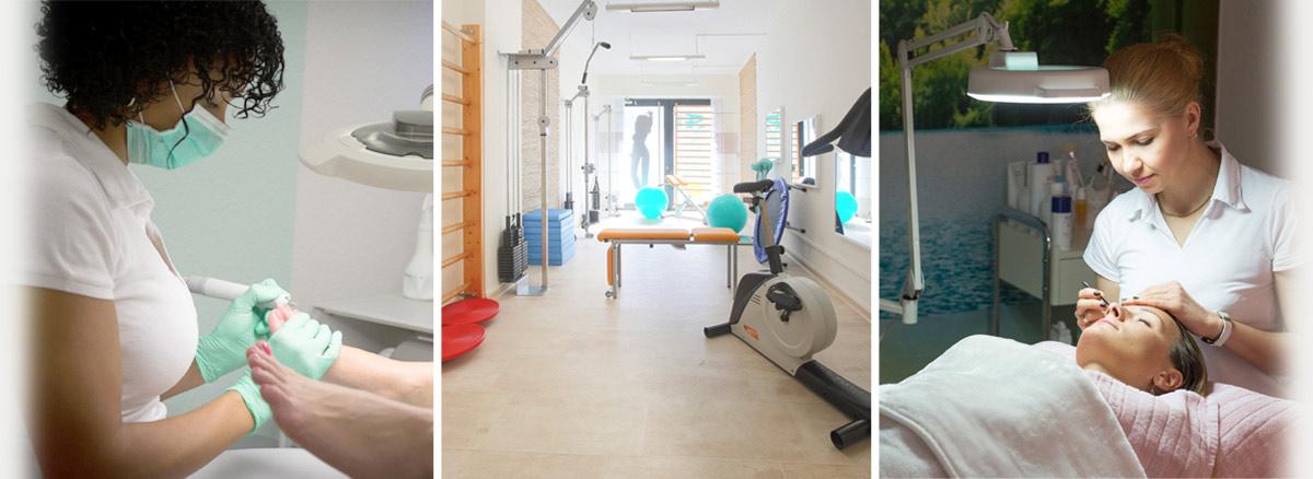Praxis für Physiotherapie, Podologie (medizinische Fußpflege)und Kosmetik inHannover-List