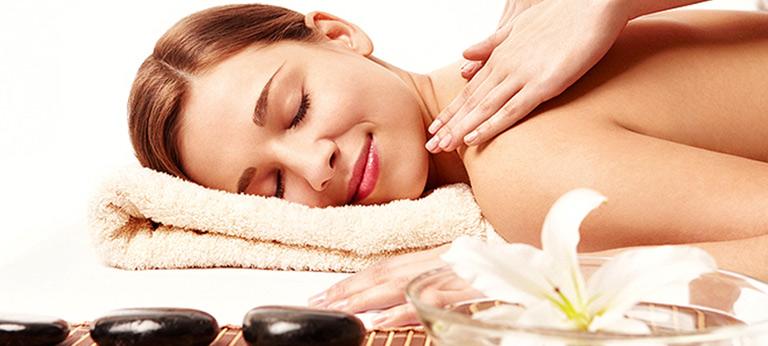 Kosmetische Körper Massage